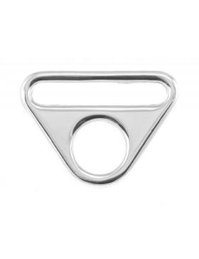 O Ring mit Steg 40 mm silber