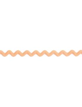 1m Zackenlitze apricot 10 mm breit 704