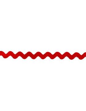 1m Zackenlitze rot 10 mm breit 722