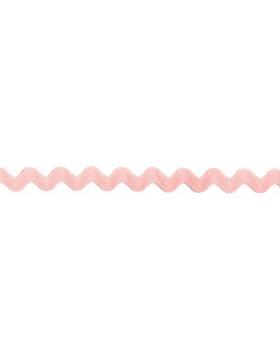 1m Zackenlitze hellrosa 10 mm breit 718