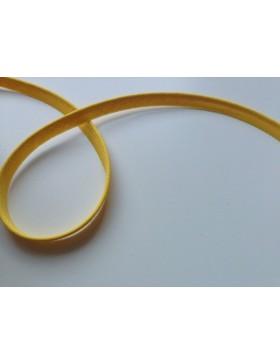 1m Paspelband gelb 10 mm breit