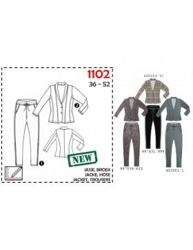 Schnittmuster Its a fits 1102 Blazer Hose Damen