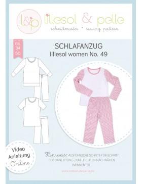 Schnittmuster Lillesol & Pelle Schlafanzug Nr. 49 Damen