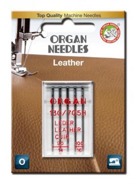 Nähmaschinen Nadeln Leder 90/100 Organ