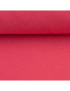 Stoff Bündchen koralle pink Heike 934 FS20