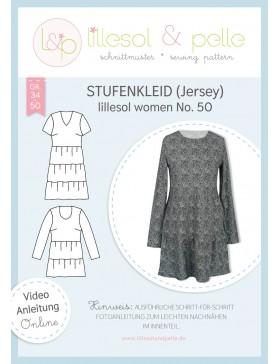 Schnittmuster Lillesol & Pelle Stufenkleid Kleid Boho Nr. 50 Damen