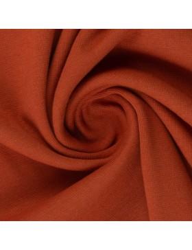 Stoff Bündchen terracotta rost rostbraun Heike 712