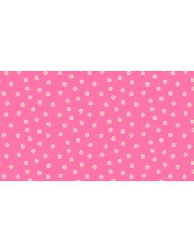 Baumwollstoff Spring Daisy Blümchen Blumen pink 2194/p