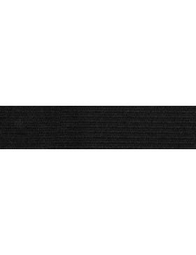 1m Gummiband Gummi schwarz 25 mm breit