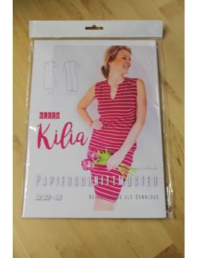 Schnittmuster kurzes Kleid Kilia Prülla Kleid