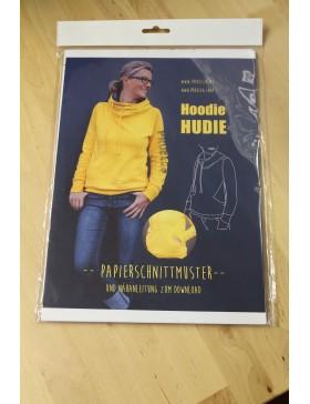 Schnittmuster Hoodie Hudie Prülla Kapuzenpullover