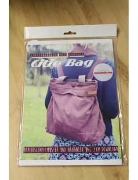 Schnittmuster Citie Bag Rucksack oder Schultertasche Tasche Prülla