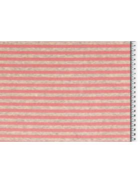 Nicky Nickystoff grau rosa rose gestreift geringelt Streifen