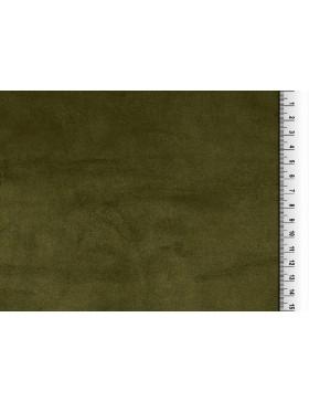 Waschleder oliv olivgrün dunkelgrün einfarbig Kunstleder Wildleder...