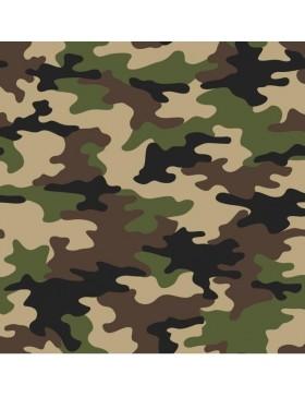 Baumwollstoff Stoff Camouflage Tarn Tarnfarben khaki oliv beige...