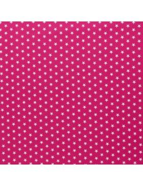 Baumwolle Webware kleine Sterne pink Carrie Baumwollstoff