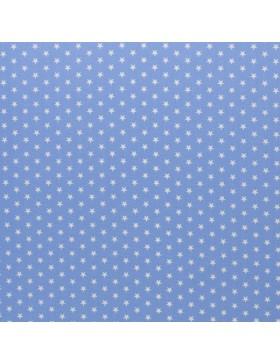 Baumwolle Webware kleine Sterne himmelblau Carrie Baumwollstoff