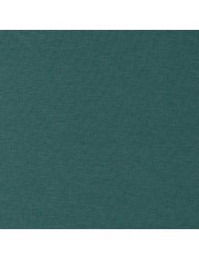Baumwoll Jersey einfarbig uni Vanessa grün petrol uni einfarbig...