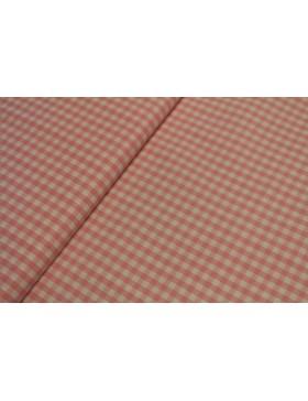 Stoff Baumwolle rosa kariert Vichy Karo 5 mm