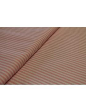 Stoff Baumwolle rosa weiß gestreift 3mm