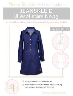Lillesol Stars No 15 Jeanskleid Kinderkleid