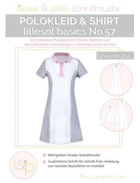 Schnittmuster Lillesol Basics No 57 Polokleid & Shirt