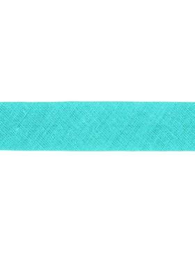 1m Baumwoll-Schrägband blassmint mint 320 gefalzt 30 mm breit