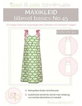Schnittmuster Lillesol Basics No 45 Maxikleid