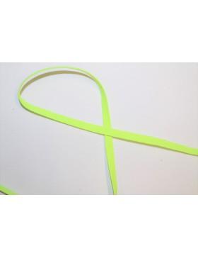 1m Gummiband neon gelb 6mm breit Gummi