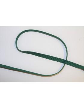 1m Gummiband dunkelgrün 6mm breit Gummi
