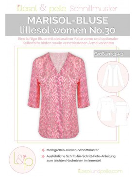 Schnittmuster Lillesol Women No 30 Marisol Webware