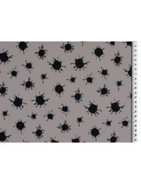 Softshell grau schwarz Farbkleckse Kleckse Tupfen Soft Shell