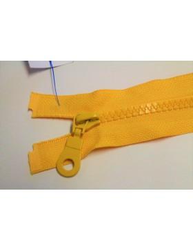 Reißverschluss teilbar 45 cm gelb