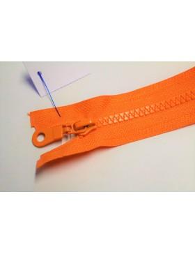 Reißverschluss teilbar 45 cm orange