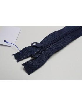 Reißverschluss teilbar 80 cm dunkelblau
