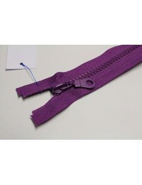 Reißverschluss teilbar 40 cm lila