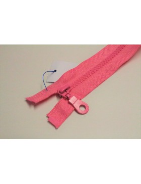 Reißverschluss teilbar 60 cm rosa