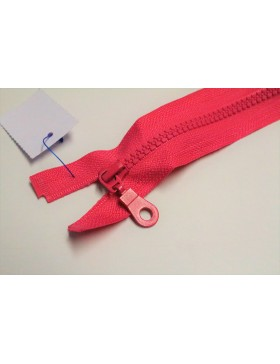 Reißverschluss teilbar 75 cm pink