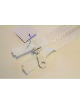 Reißverschluss teilbar 55 cm weiß