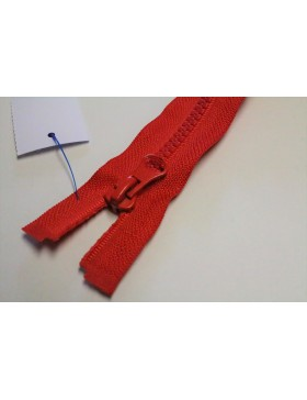 Reißverschluss teilbar 60 cm rot