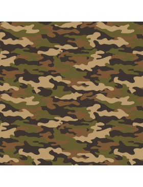 Baumwollstoff Stoff Army Camouflage Tarn Tarnfarben khaki oliv...