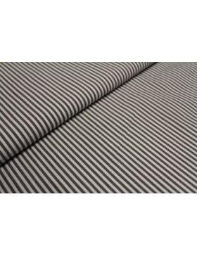 Stoff Baumwolle braun gestreift Streifen 3 mm