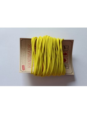 Gummikordel 3mm Gummiband gelb