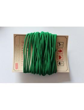 Gummikordel 3mm Gummiband grün dunkelgrün