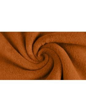 Baumwollfleece Fleece Sheepskin curry senf orange