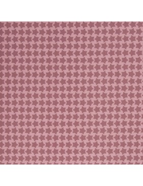 Beschichtete Baumwolle Staaars altrosa rosa rose Farbenmix Swafing...