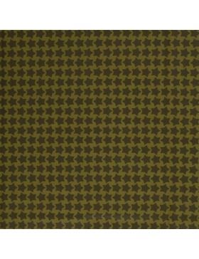 Beschichtete Baumwolle Staaars grün khaki oliv Farbenmix Swafing...