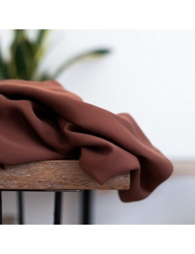 Tencel Smooth Drape Twill Pecan braun von meetMilk