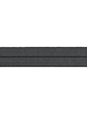 1m Falzgummi Faltgummi Einfassgummi 20 mm grau dunkelgrau