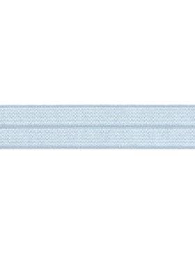 1m Falzgummi Faltgummi Einfassgummi 20 mm hellblau